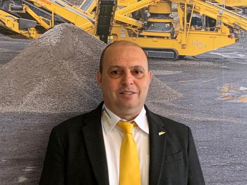 Roberto Lopes, director ejecutivo de Keestrack Italia
