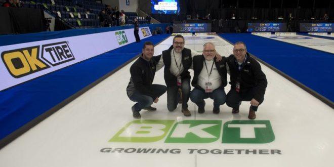 BKT renueva su asociación con Curling Canada