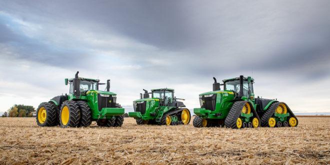 John Deere presenta la nueva serie de tractores 9R