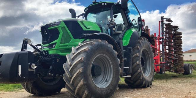 Prueba en campo del tractor Deutz-Fahr 8280 TTV
