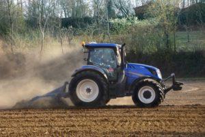 BKT AGRIMAX en tractor New Holland
