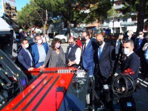 Miembros del Gobierno catalán en la 148 Fira de Sant Josep de Mollerussa