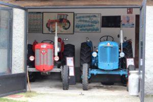 Tractores del Museo MUVICLA