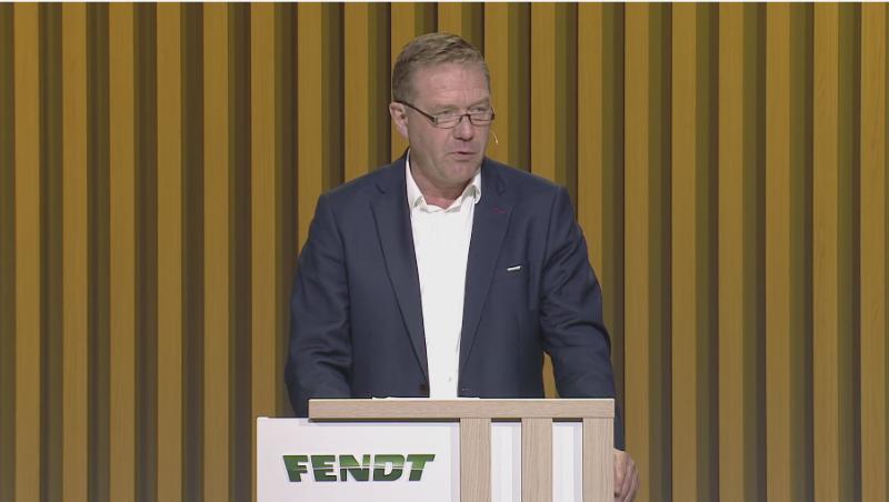 Christoph Gröblinghoff, presidente de la junta directiva de AGCO/Fendt
