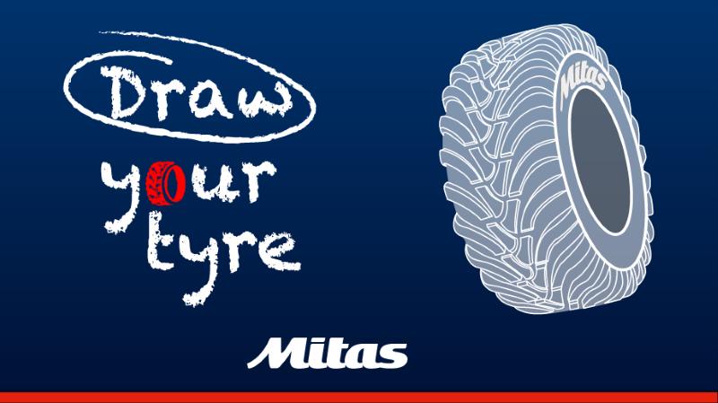 Desafío 'Draw Your Tyre' de Mitas