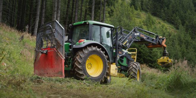 Nokian muestra los TR Forest 2 para trabajos forestales